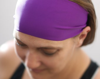No Slip Headband, Workout Headband, Running Headband, Fitness Headband, Yoga Headband, Stretch Headband, Headband