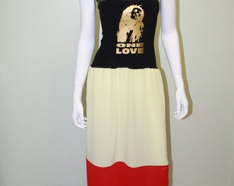 ISTYLE DESIGN Bob Marley roots dress