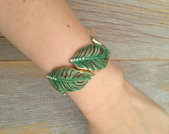 Tropical Forest Stretch Bracelet