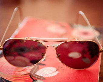 Vintage Sunglasses with Pink