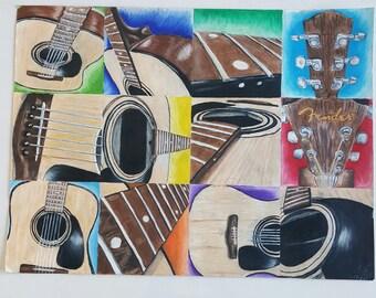 Musical Visual Print