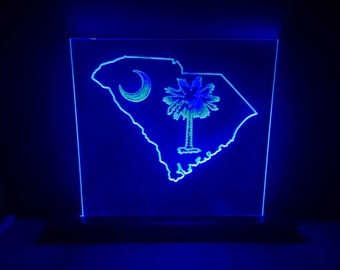 South Carolina State LED Sign
