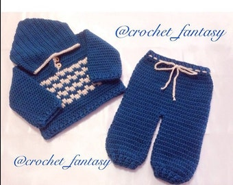 Baby Sweater and Sweatpants set