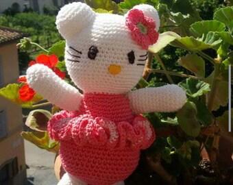 Hello Kitty amigurumi technique