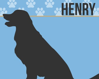 "Custom 12x12"" Pet Name Printable"