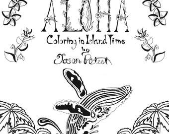 Aloha Coloring in Island Time