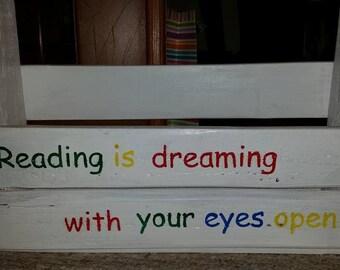 Custom Book Shelf  from Reclaimed wood