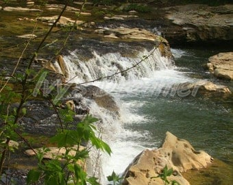 Waterfall Art, waterfall photograph, nature photography,