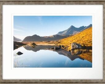 Sgurr nan Gillean Isle of Skye Scotland Framed Photographic Print