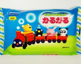 Padico Lightweight Paper Clay Japan (200g) Figurines / Doll / Flower / Miniature Food