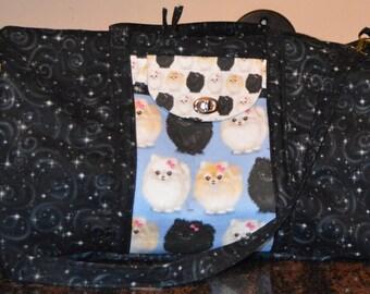 Pomeranian Weekender bag