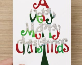 A Very Merry Christmas Penis Card