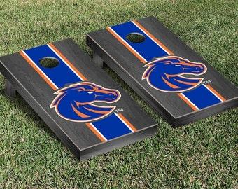 Boise State Broncos Cornhole Game Set Stripe Designs