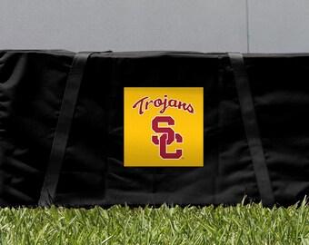 Southern California USC Trojans Cornhole Game Set Carrying Case