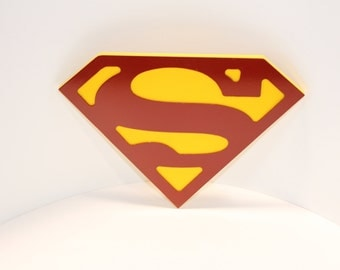 Superman Man of Steel Wall emblem