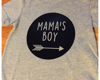 Mama's Boy Shirt or Onesie