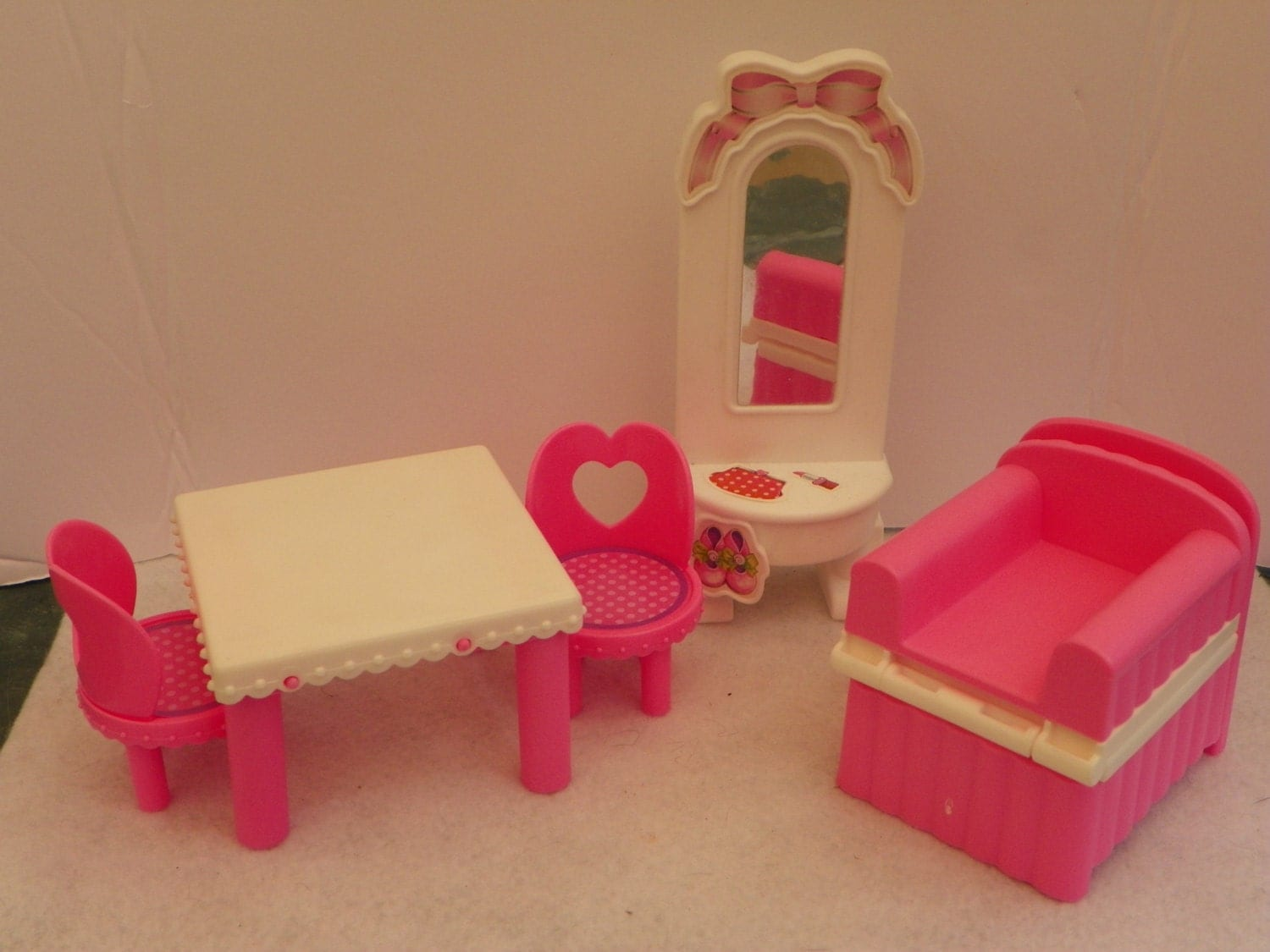 Kelly Doll House Furniture Vintage Barbie Mattel Doll