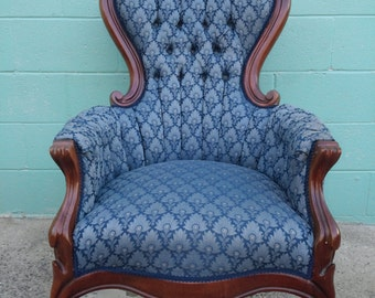 Beautiful Victorian Handcarved Chair