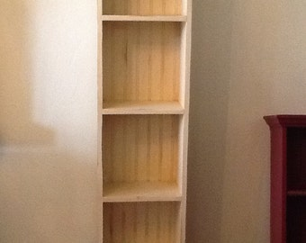 Bookcase space efficient