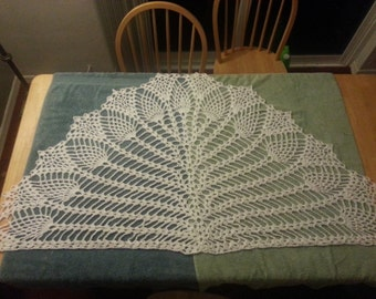 LDS Temple Shawl, Pure White, 100% Cotton
