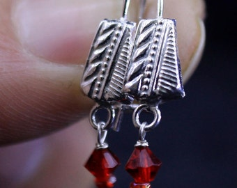 925 Silver Ear Ring For Little Girls  kids & Also for a Gift