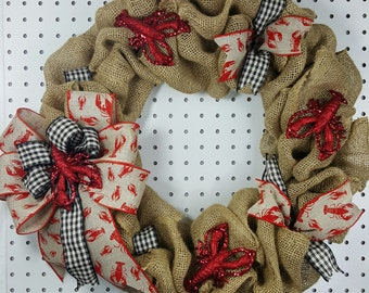 Crawfish Wreath