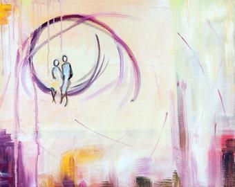 Dreams - Original Art Oil on Canvas Painting