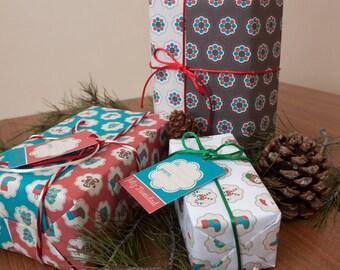 Papel de regalo 6 modelos combinables