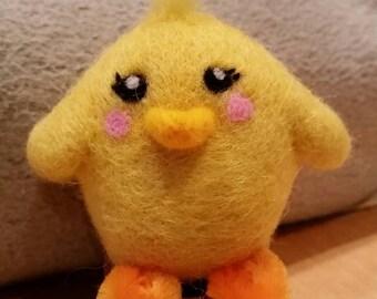 Kawaii Needle Felt Chick