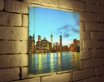 "LED Light Box ""NYC"""