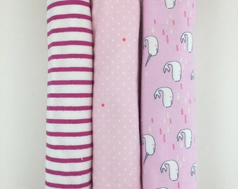 Set of 3 Burp Cloths