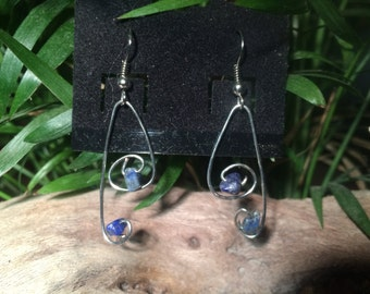 Bent Wire Earrings