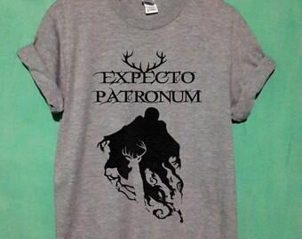 expecto patronum shirt expecto patronum tshirt expecto patronum t shirt expecto patronum tank hogwarts shirt size S,M,L,XL