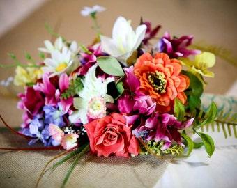 Wedding Bouquet Silk Flower