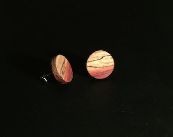 Natural Wood Earrings