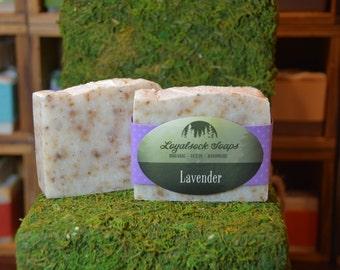 Lavender Soap - organic, handmade, all natural, cold process, vegan