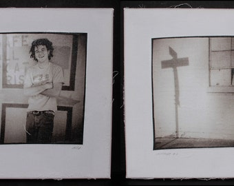 """Diptych """"Crossroads"""", a part of the """"First Memory"""" collection"""