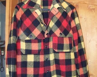 Vintage Glendale of Minnesota  Outerwear Jacket Coat Plaid Med