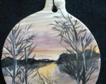 SALE:  Landscape Ornament