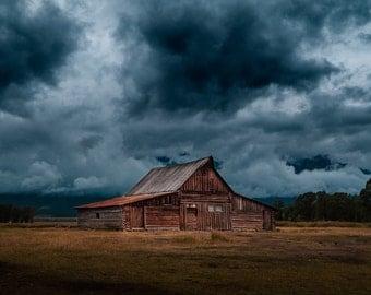 Old House - Barn - Barn Photo - Ruin - Ruin Photo - Old House Photo - Digital Photo - Digital Download - Instant Download - Home Decor