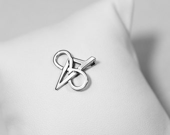 Pendant Corsica & infinity Silver 925 rodhie