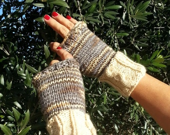 Introductory Price on my Cable Fingerless Mitts.