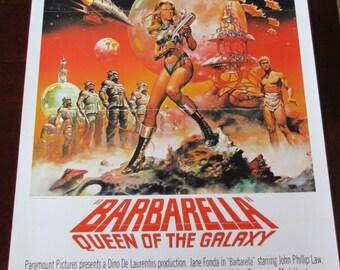 Barbarella Movie Poster 24x36in Jane Fonda