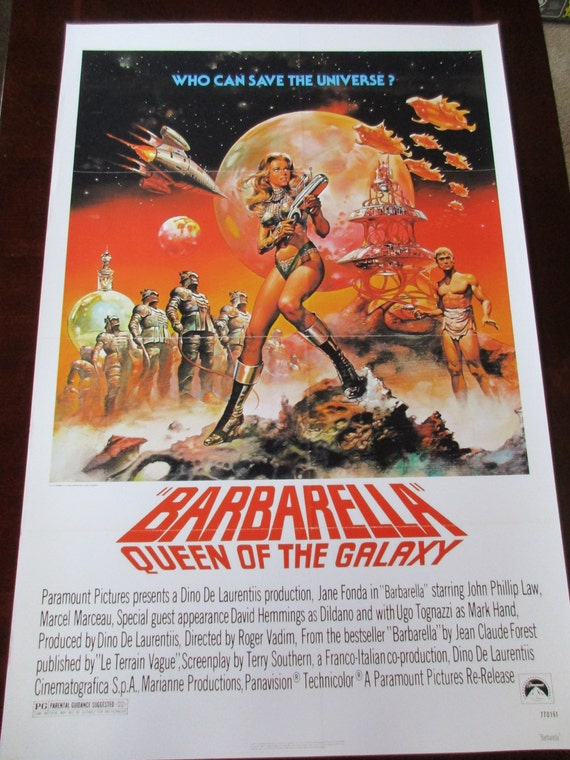 barbarella movie poster - photo #9