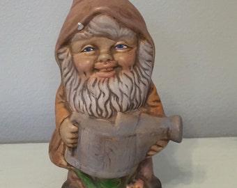 Vintage Ceramic Garden Gnome