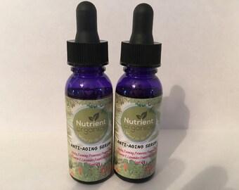 Anti Aging Serum..Nutrient Organics