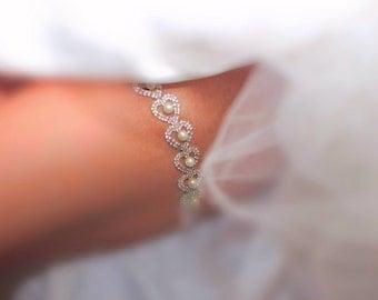 Bridal Garter-Wedding Keepsake Garter