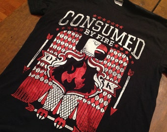 Consumed by Fire shirt - SM