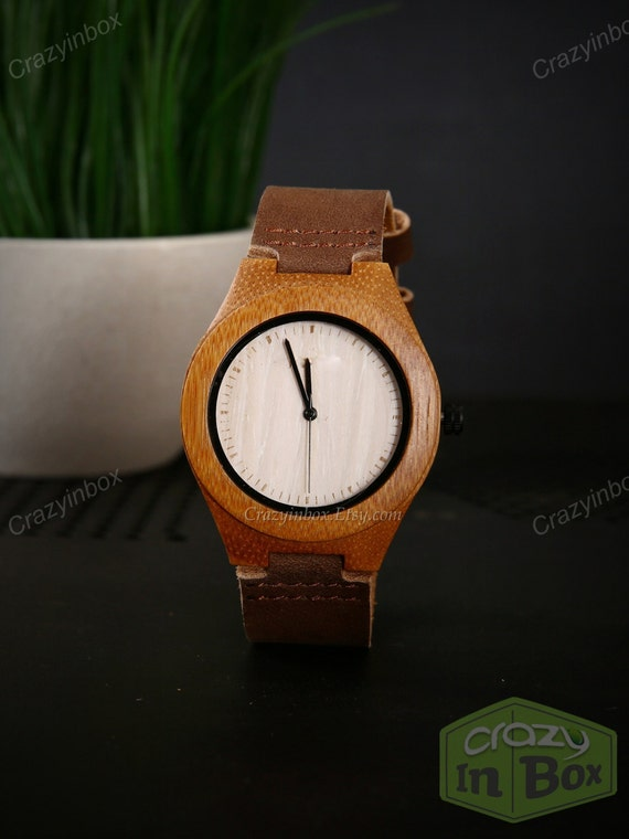 engraved womens wood watches custom wooden by crazyinbox