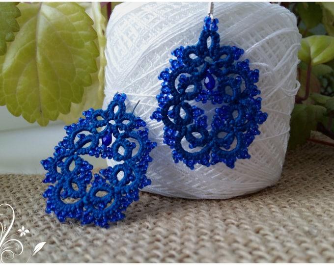 lace earrings zifirki